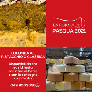 Pasqua 2021 - Le colombe by Fornace
